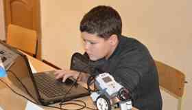 Фото III областные соревнования по робототехнике